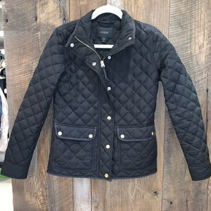 J Crew Quilted Light Weight Bottom Down Jacket